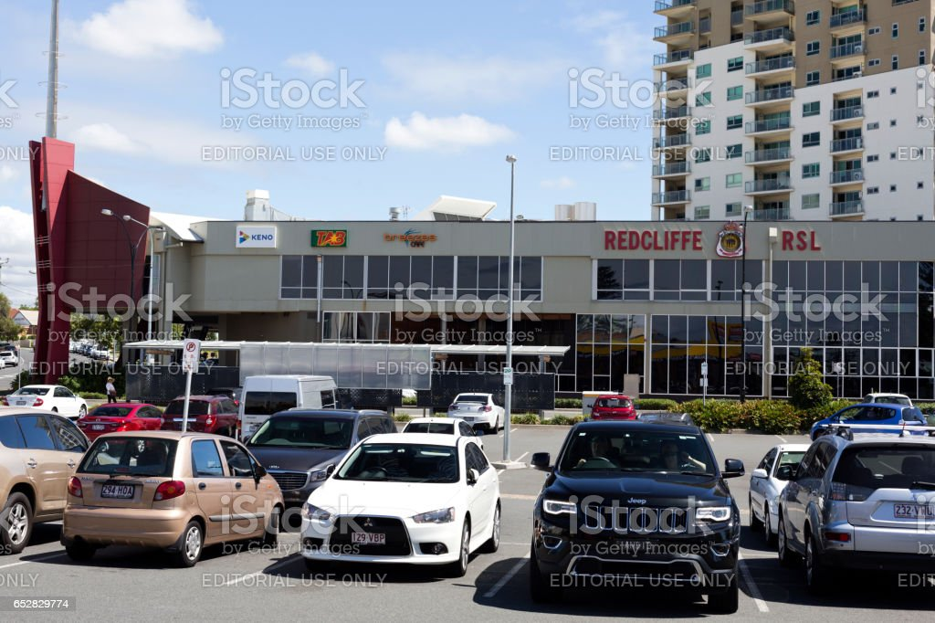 Redcliffe RSL Club stock photo