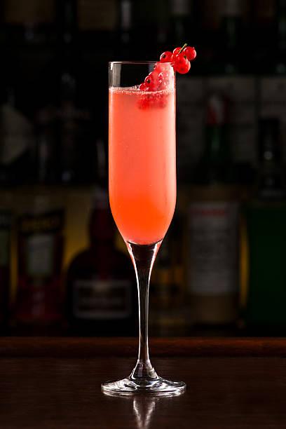Redcurrant champagne cocktail – Foto