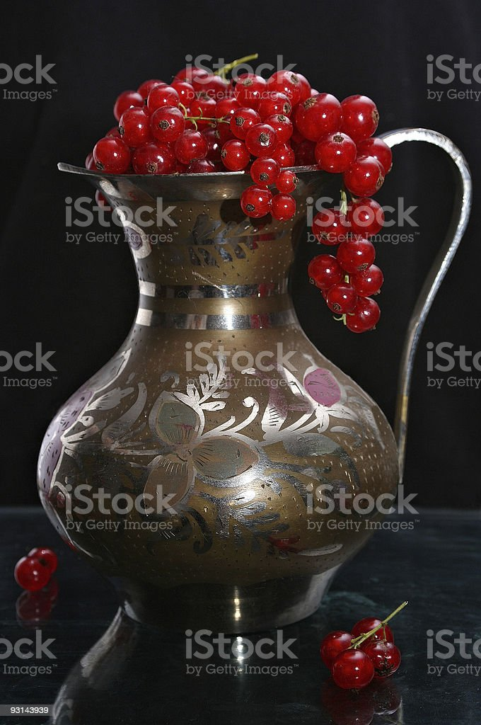 Red-currant stock photo
