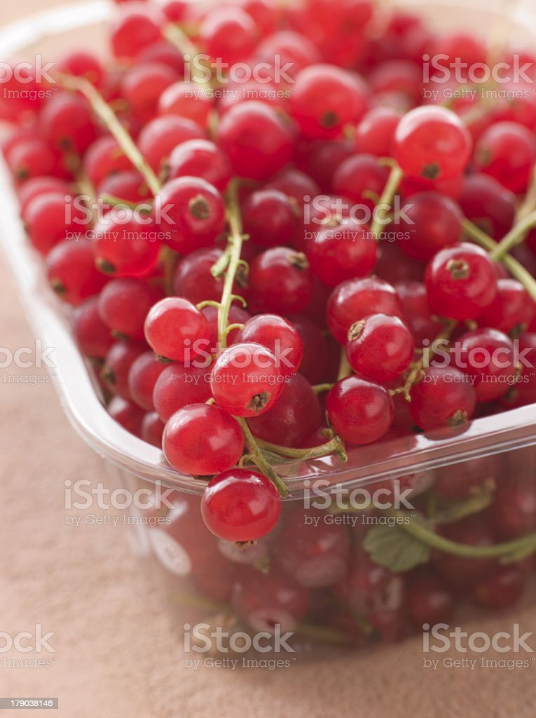 Redcurrants In Packaging royalty-free stock photo