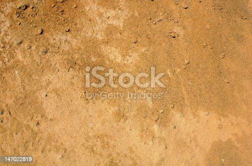 Sandy reddish brown dirt background