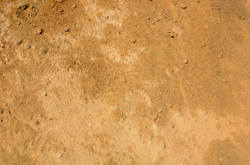 Sandy reddish brown dirt background
