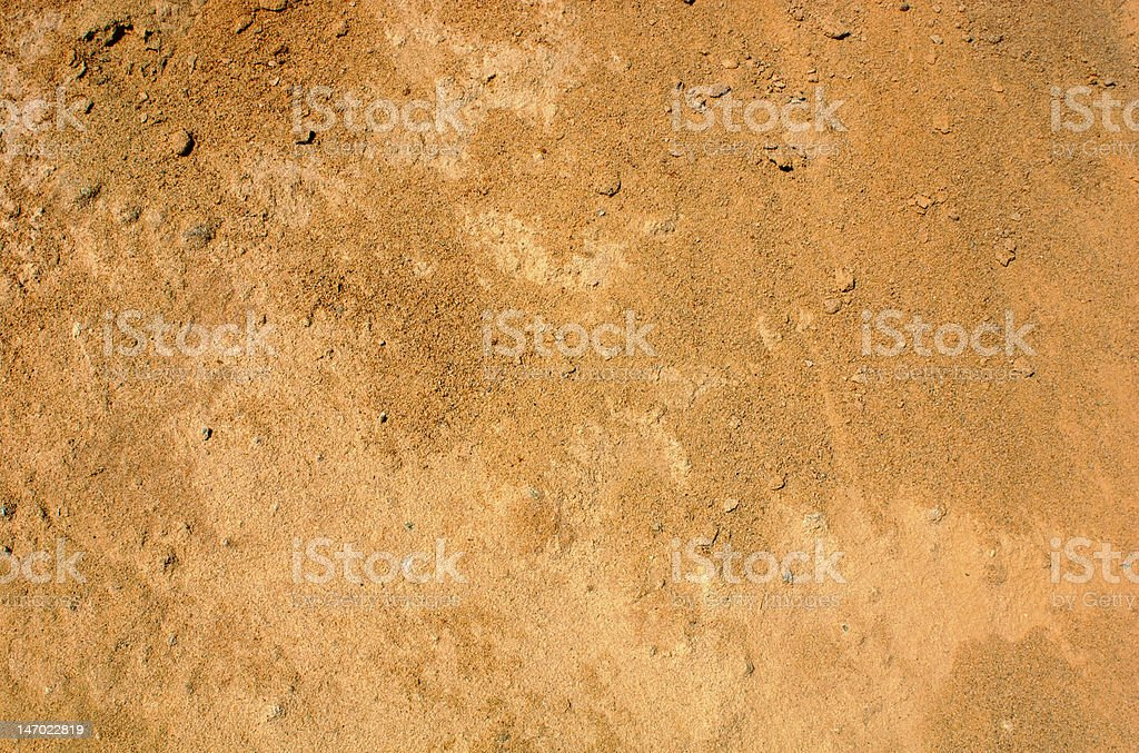 Reddish brown dirt background stock photo