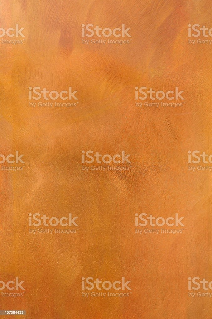 Reddish Brown golden textured metal surface background stock photo