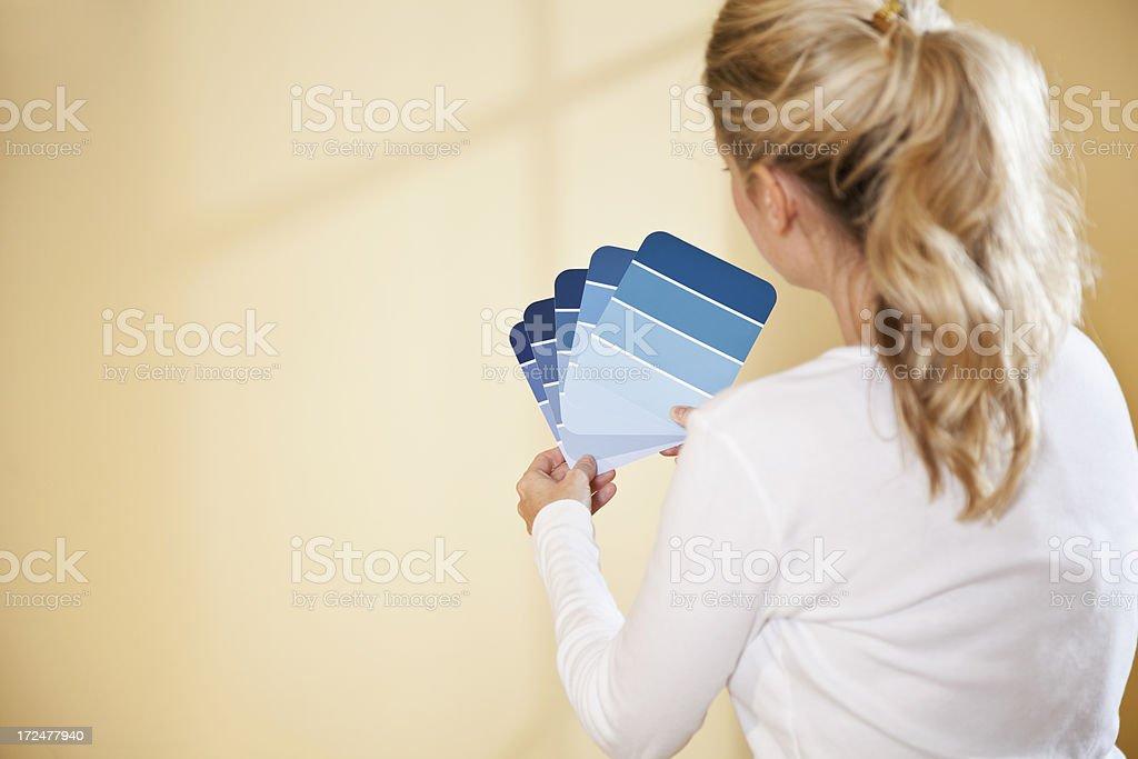 Redecorating stock photo