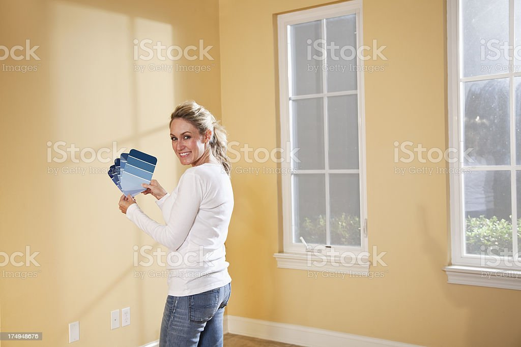 Redecorating royalty-free stock photo