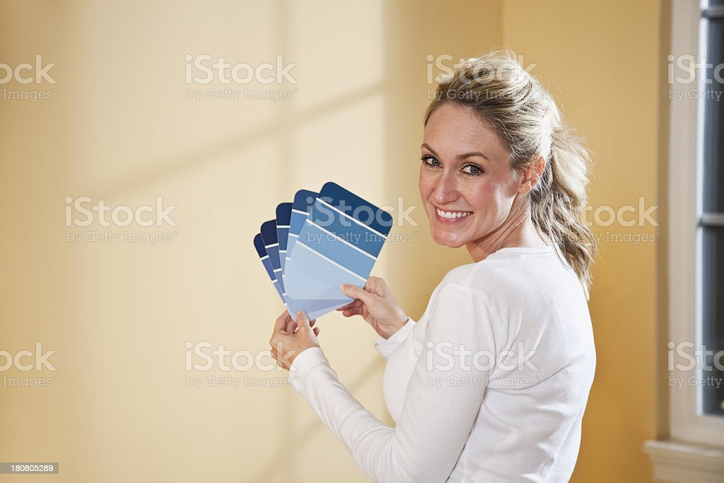 Redecorating royalty-free stock photo
