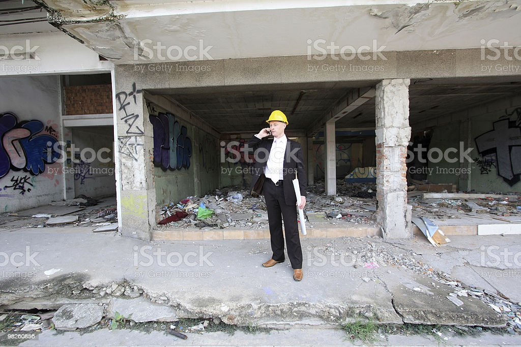 Redevelopment royalty-free stock photo