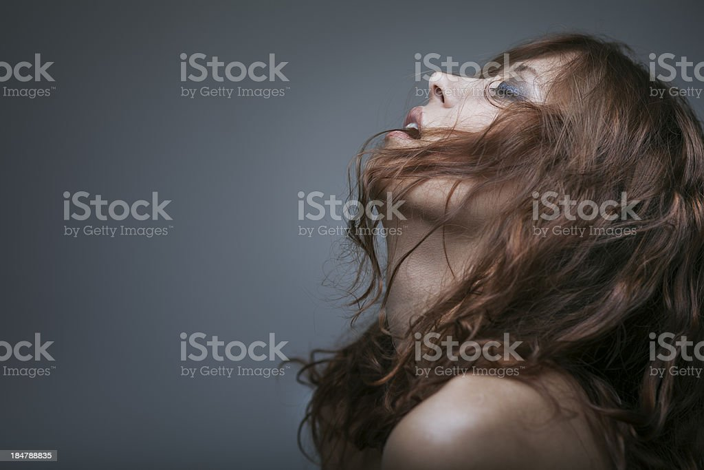 redhaired woman bondage royalty-free stock photo