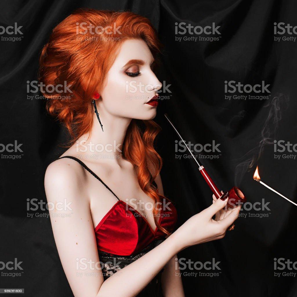 rousse pipe Reine joufflu branlette porno