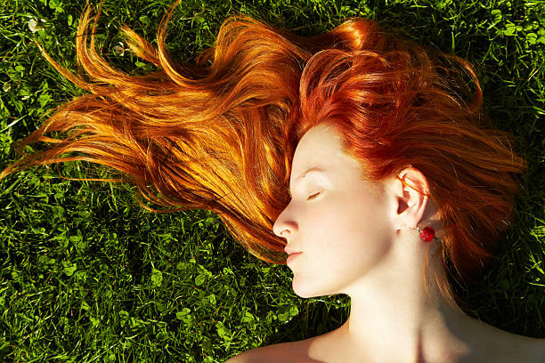 Rotes Haar Mädchen – Foto