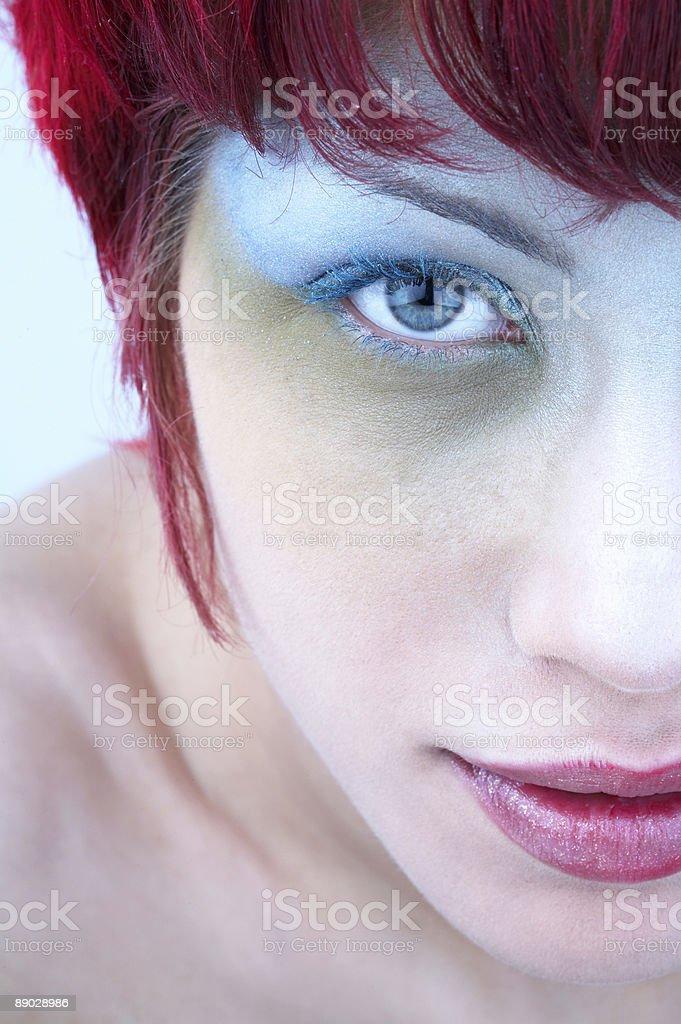 Redhead royalty-free stock photo