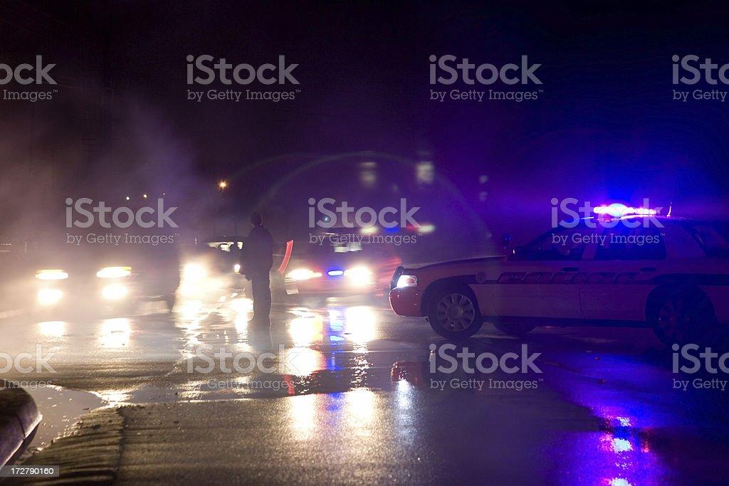 Redirecting Traffic royalty-free stock photo