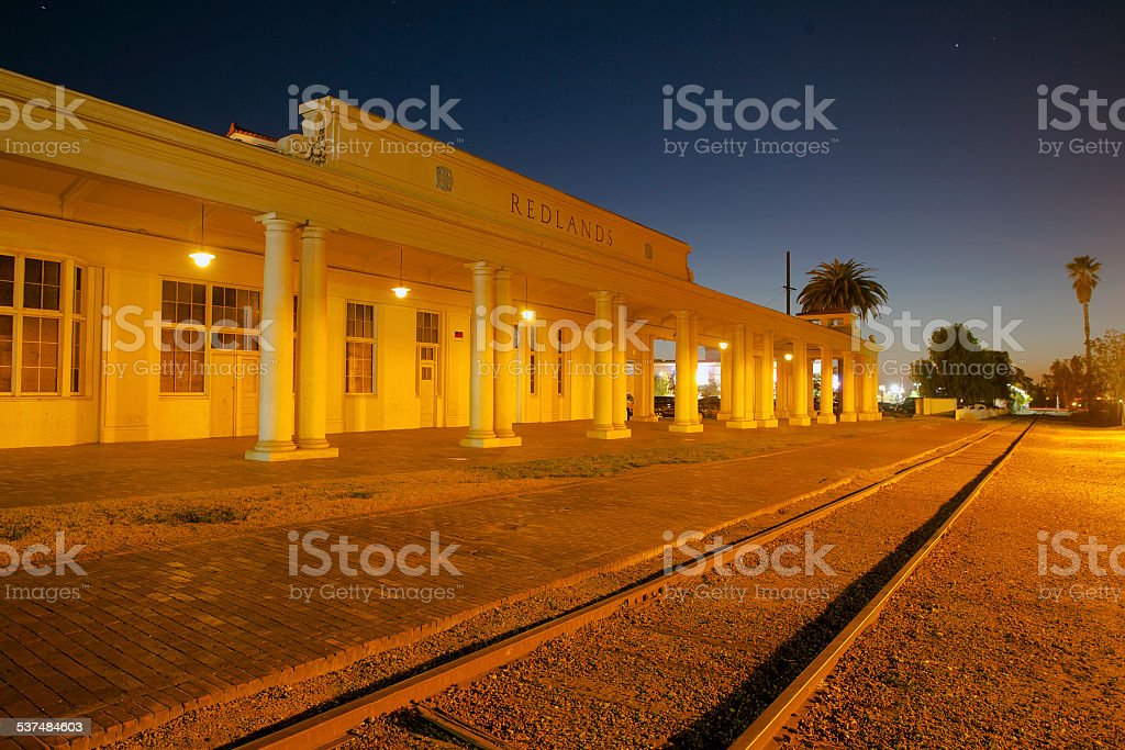 Redlands Train Depot 3 stock photo