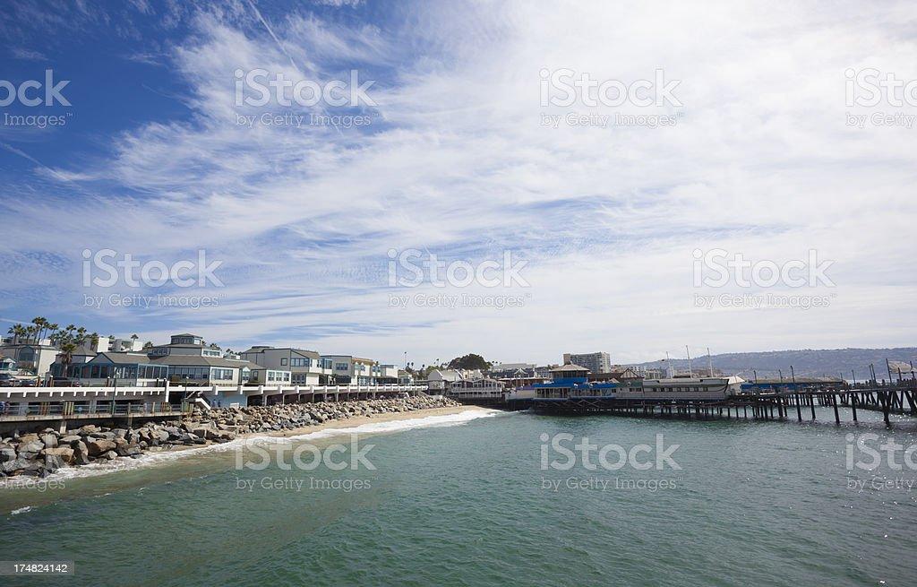 Redondo Beach CA royalty-free stock photo