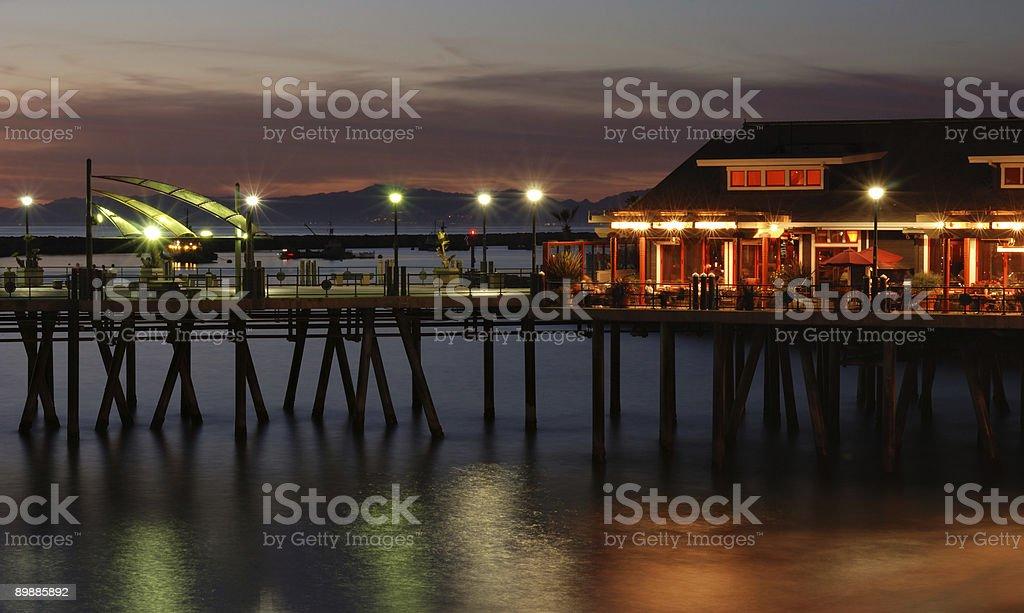 Redondo Beach Pier foto stock royalty-free