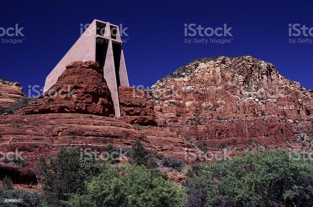 Redrock Sanctuary royalty-free stock photo