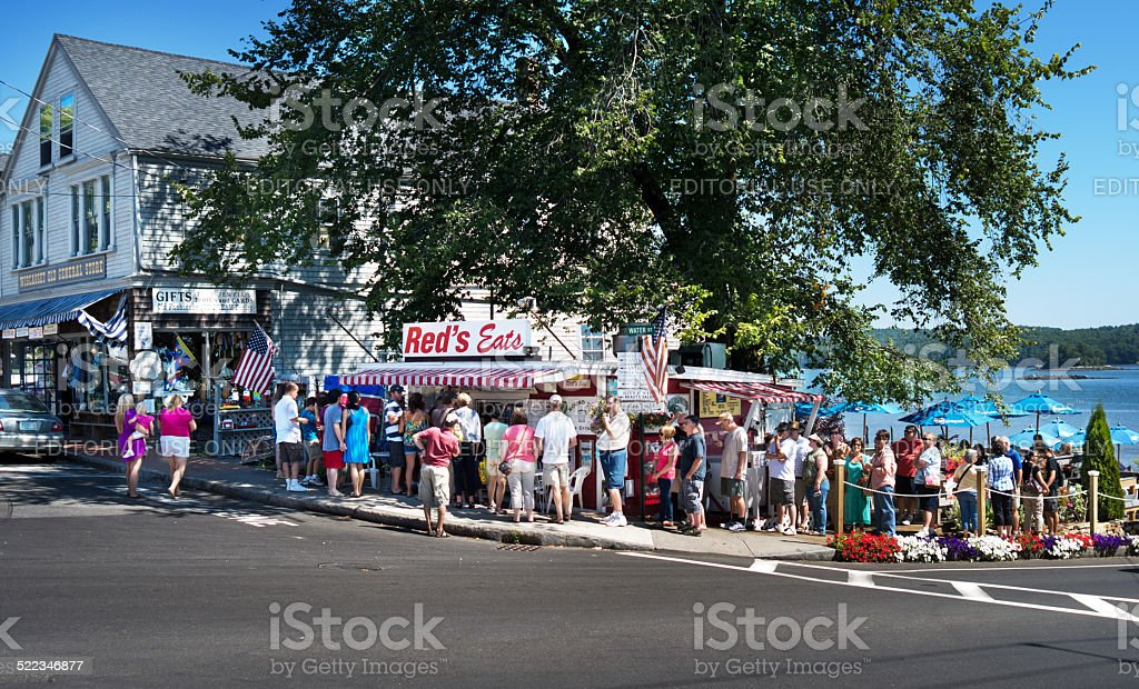 Red's Eats restaurant in Maine stock photo