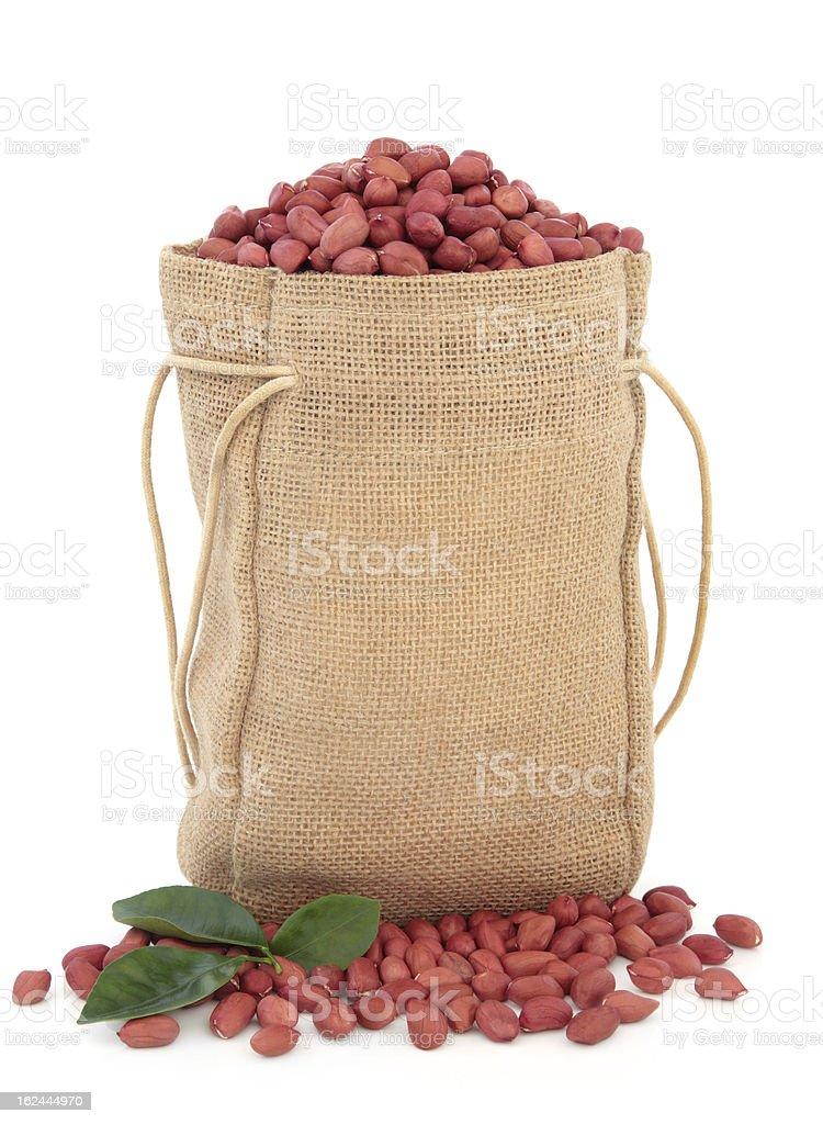 Redskin Peanuts royalty-free stock photo