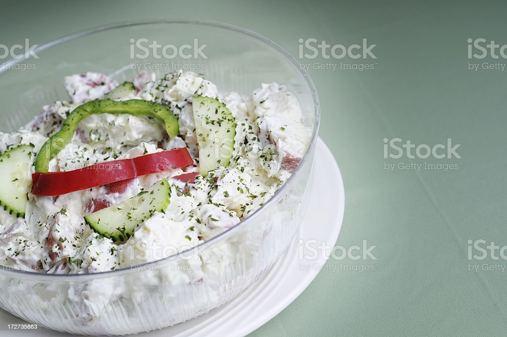 Redskin Potato Salad royalty-free stock photo