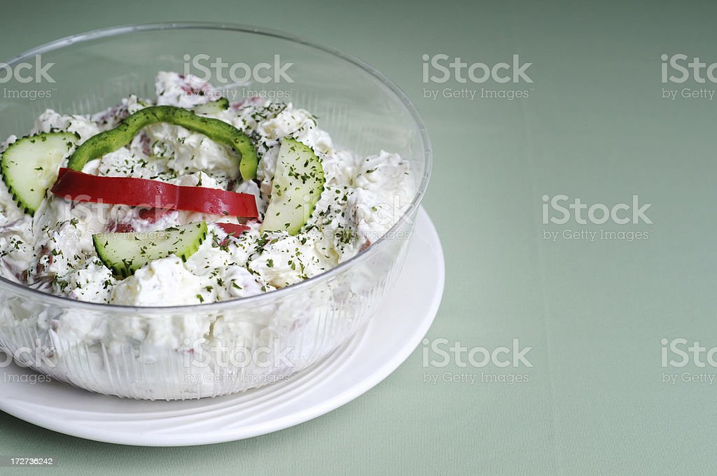 Redskin Potato Salad royalty-free stock photo