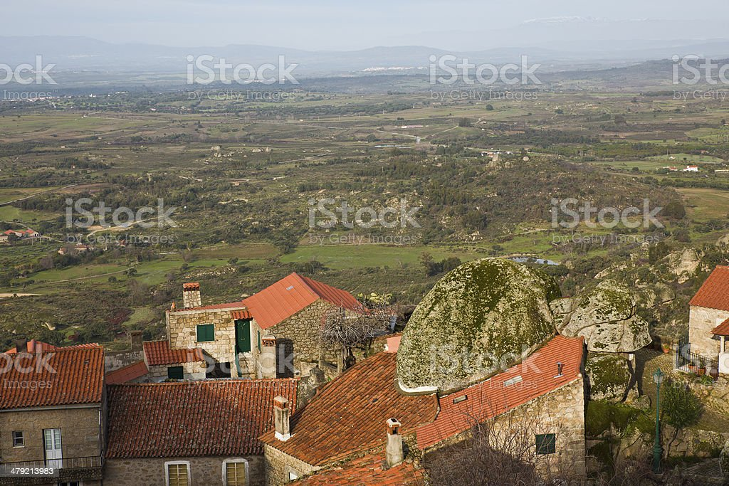 Red-tiled roofs royalty-free stock photo