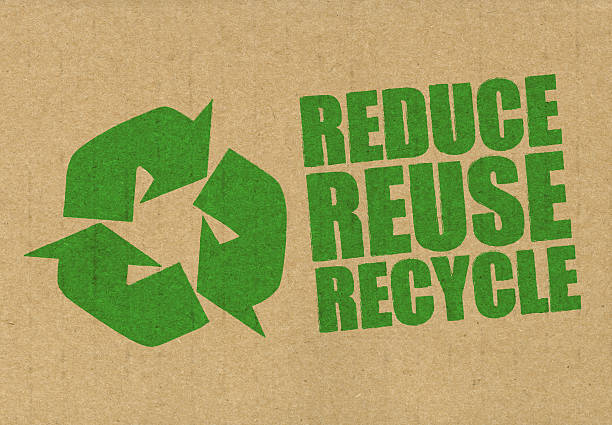 reduce reuse recycle - recycling symbol stock photos and pictures