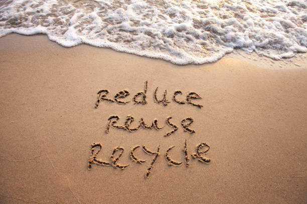reduce reuse recycle, sustainability concept - economia circular imagens e fotografias de stock