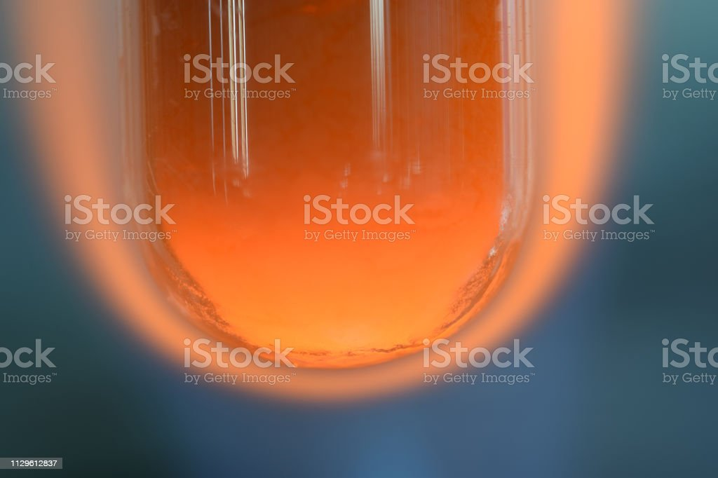 Reduction Of Copper Oxide With Carbon Stock Photo - Download