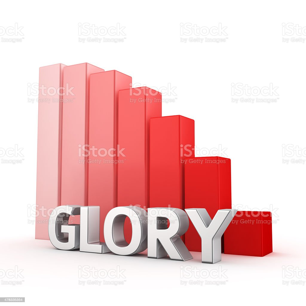 Reduction of Glory stock photo