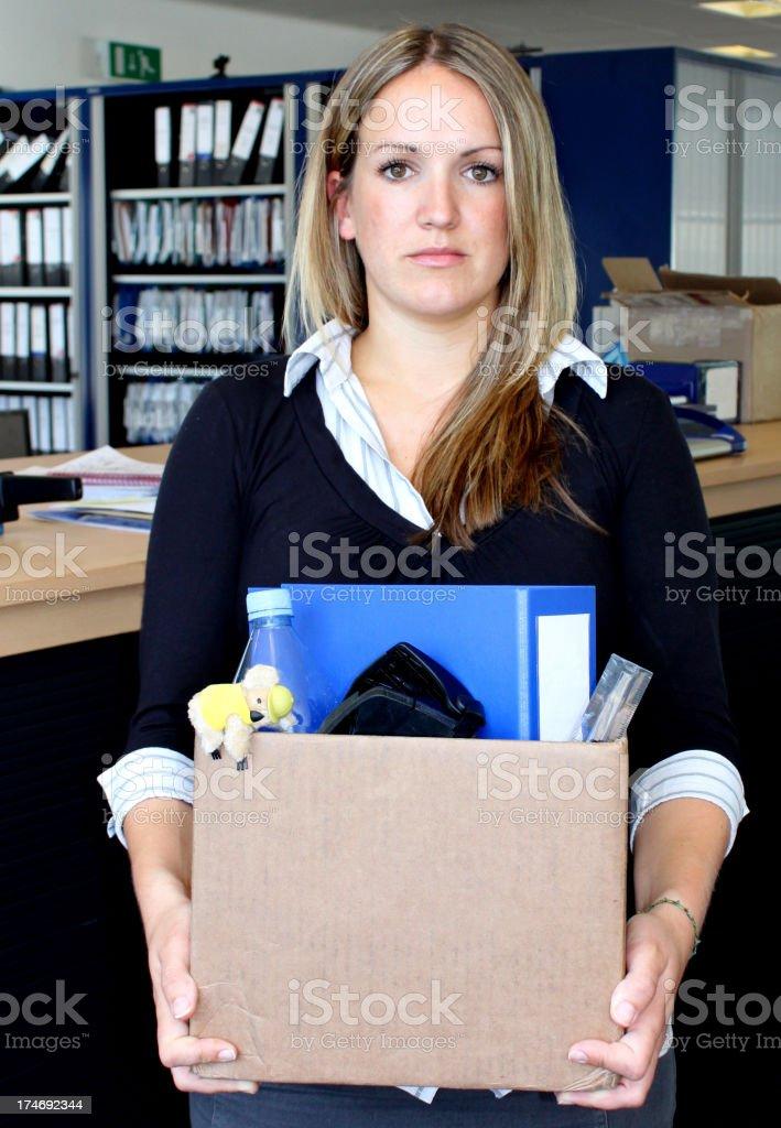 Redundancy Unemployment royalty-free stock photo