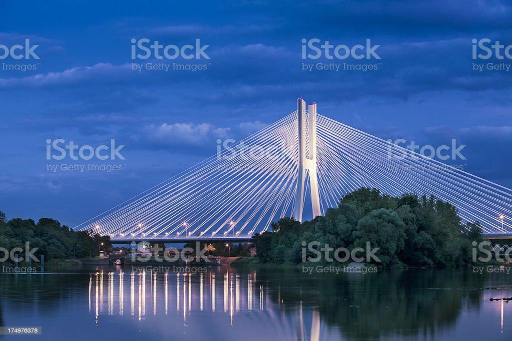 Redzin bridge stock photo