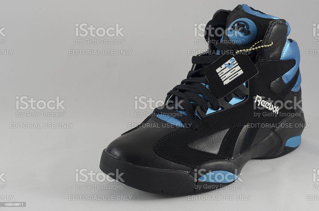 Reebok Shaq Attaq Basketball Sneaker stock photo
