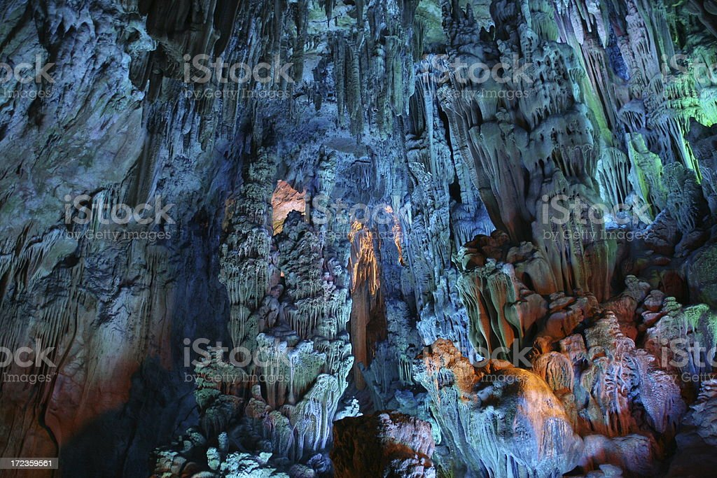 Reed Flute Cave royalty-free stock photo