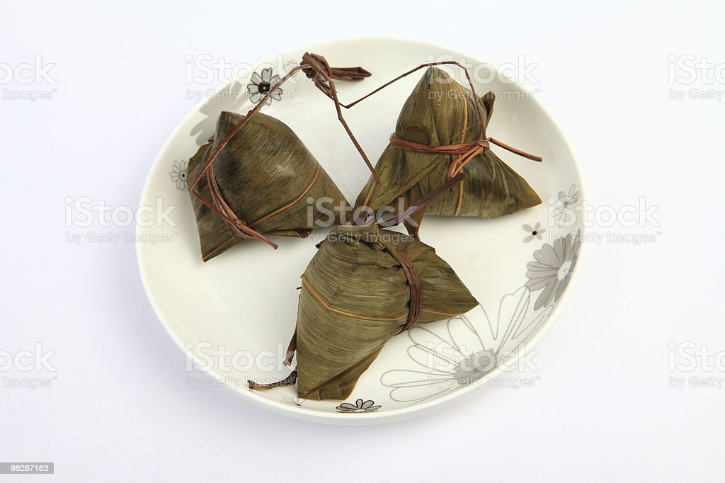 Reed leaf of the food package royalty-free stock photo