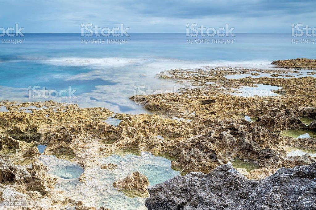 Reef flats stock photo