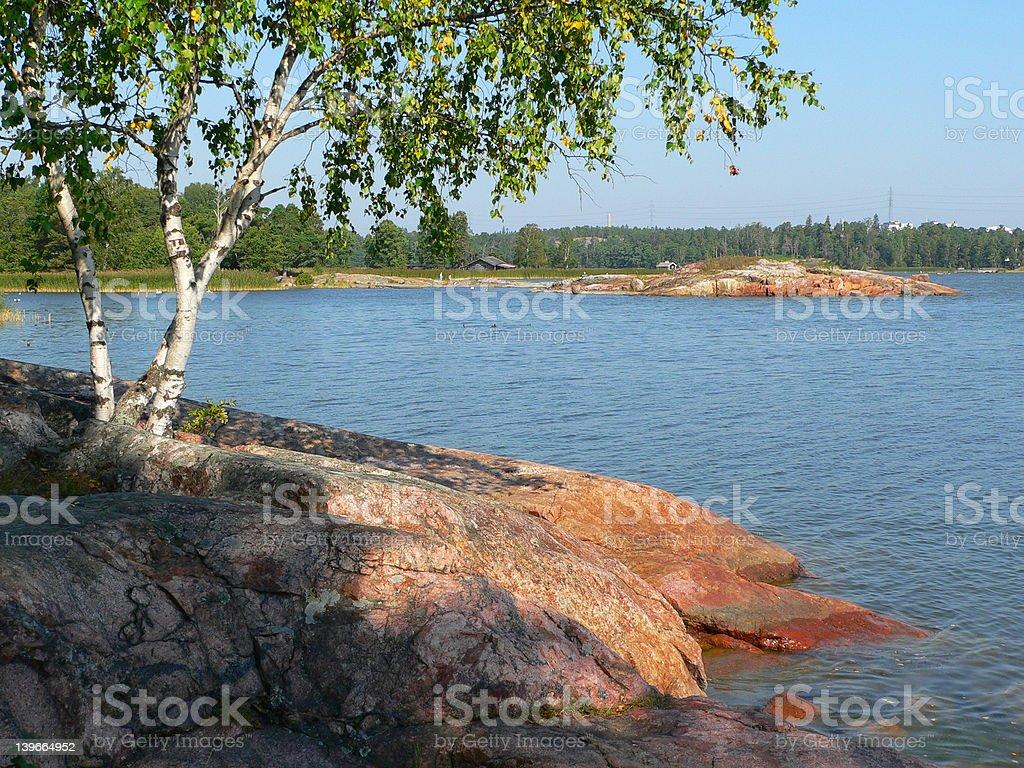 Reef in Finland royalty-free stock photo