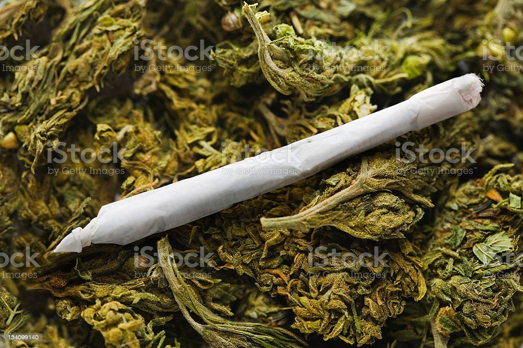 Reefer madness stock photo