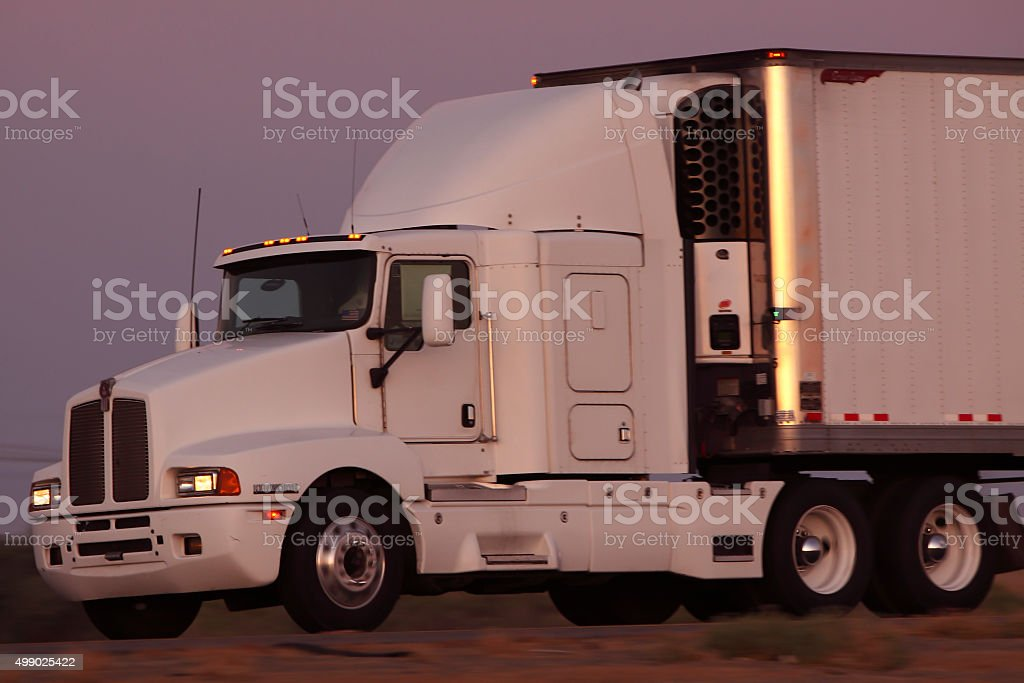Reefer Truck stock photo