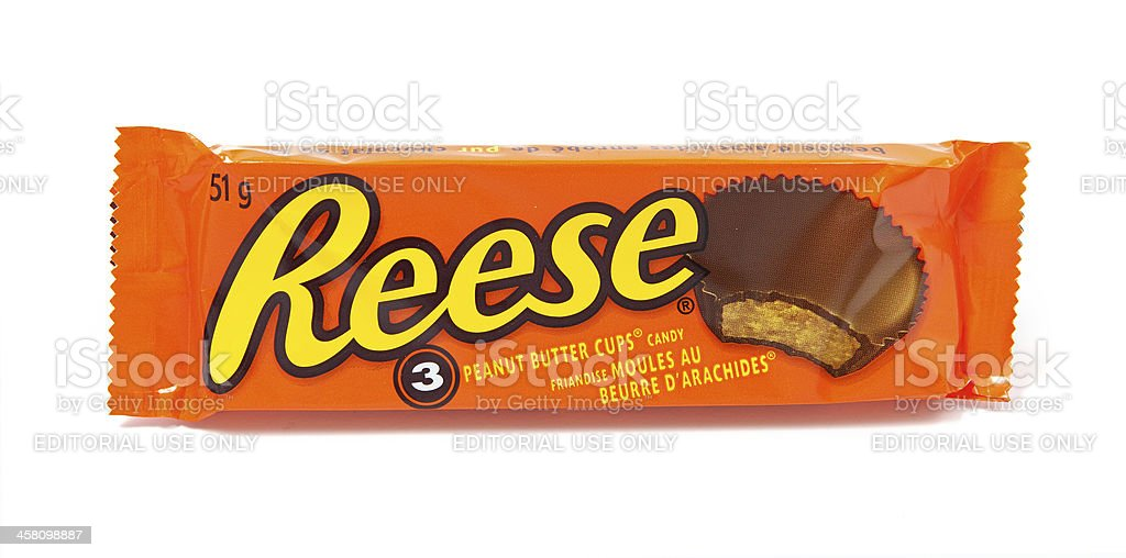 Reese Peanut Butter Cups Candy stock photo