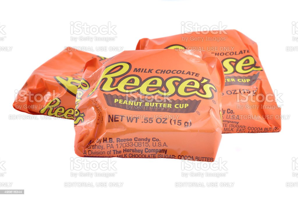 Reese's Peanut Butter Cup stock photo