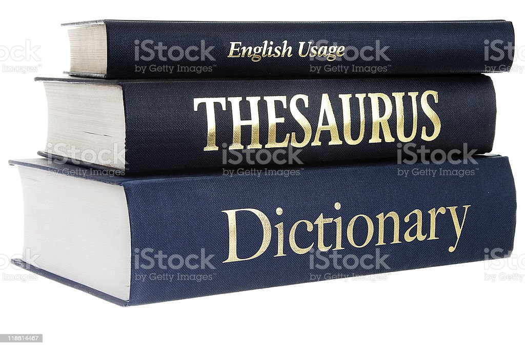 Reference books royalty-free stock photo