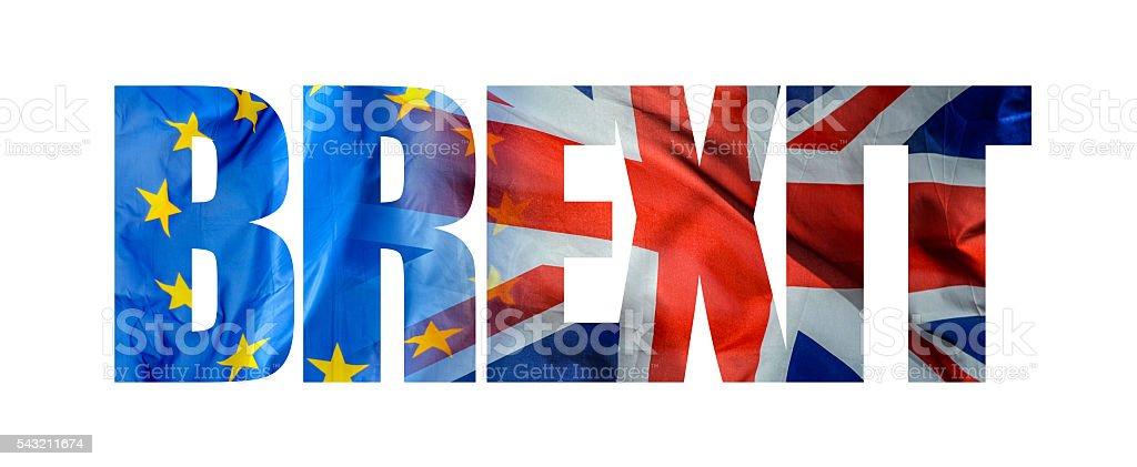 EU Referendum Brexit - foto stock