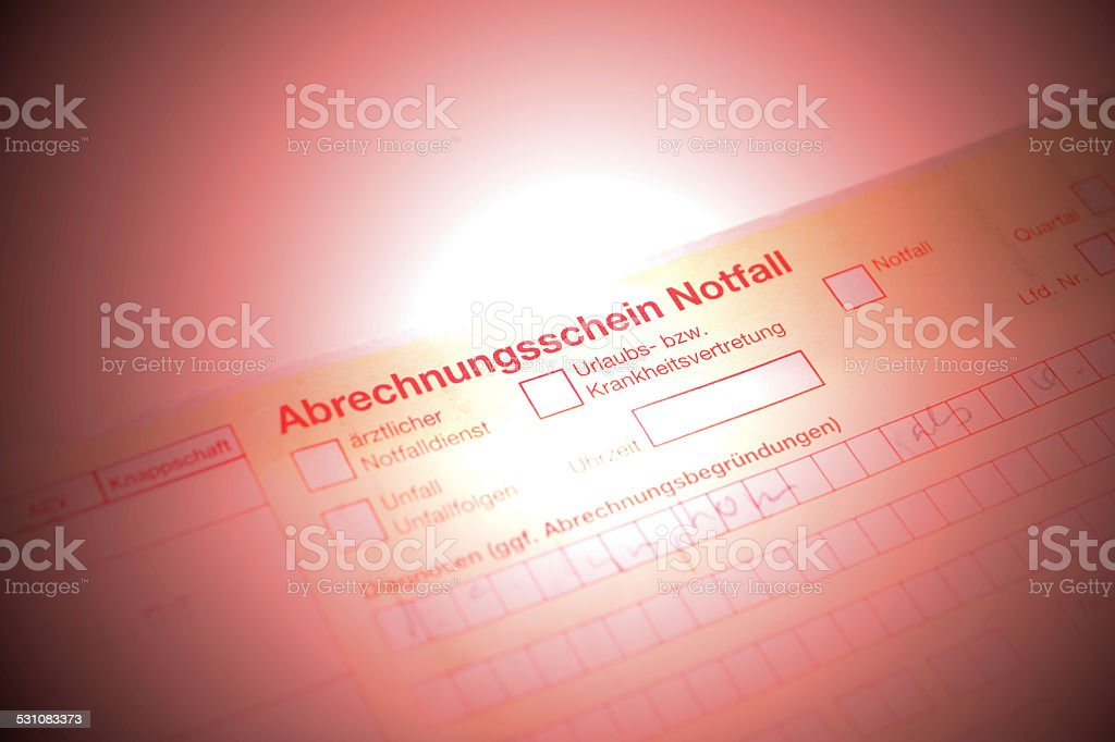 Referral form stock photo