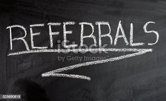 Hand writing Referrals