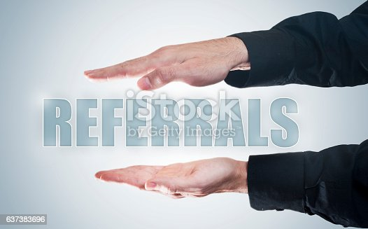 Referrals / touch screen concept (Click for more)