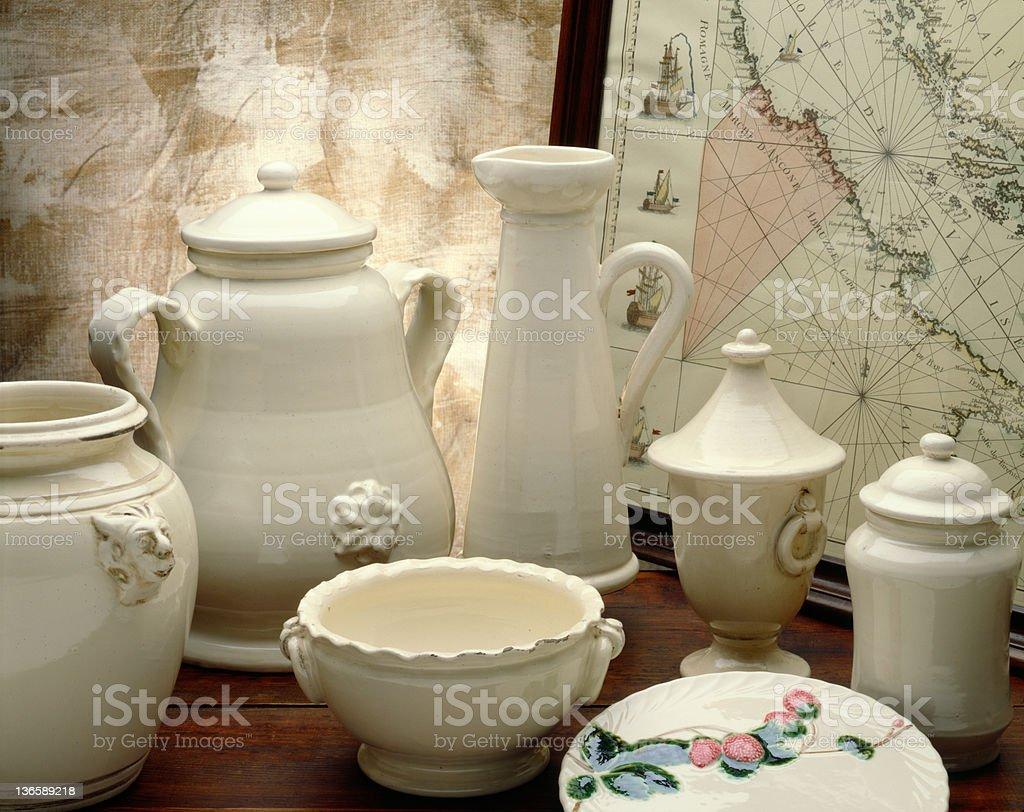 Refined Pottery royalty-free stock photo