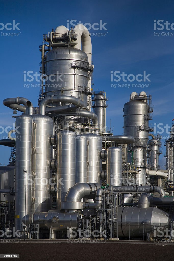 Refinery 16 royalty-free stock photo