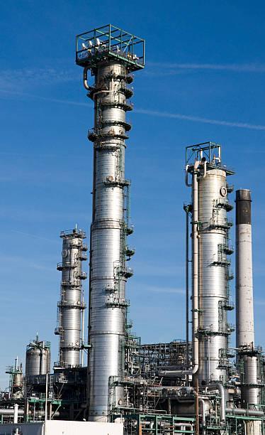 Raffinerie-Anlage – Foto
