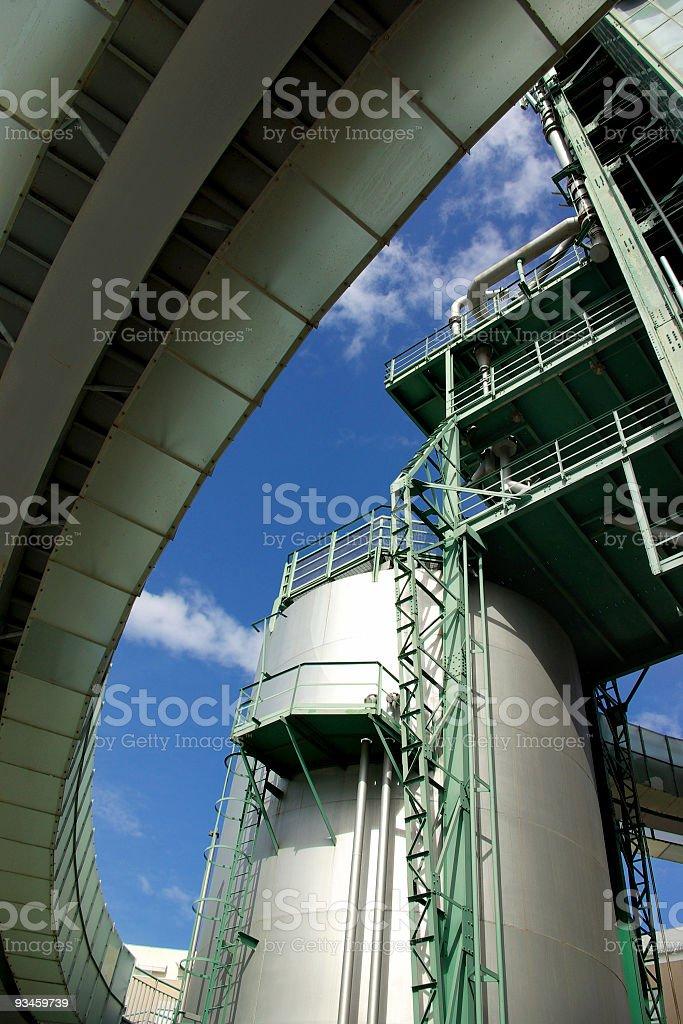 Refinery Detail stock photo